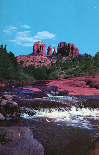 Courthouse Rock - Oak Creek Canyon, Arizona