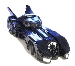 batmobile: BIG (psiaki) Tags: car lego jet batman 1989 batmobile burton keaton moc