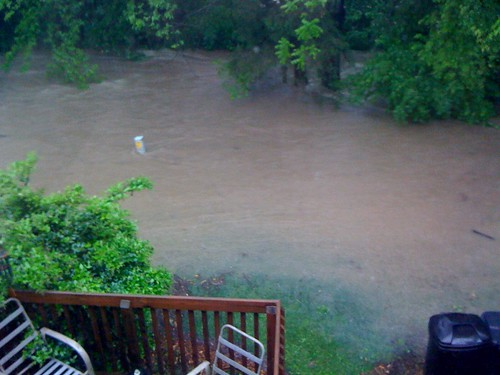 Flooding up to the deck by jameswhitefanclub.