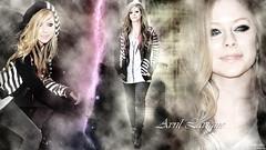 Avril Lavigne - Smile again... (gergely.kondas) Tags: wallpaper hd avril lavigne