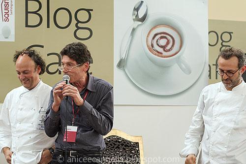 Moreno Cedroni, Luigi Cremona, Massimo Bottura