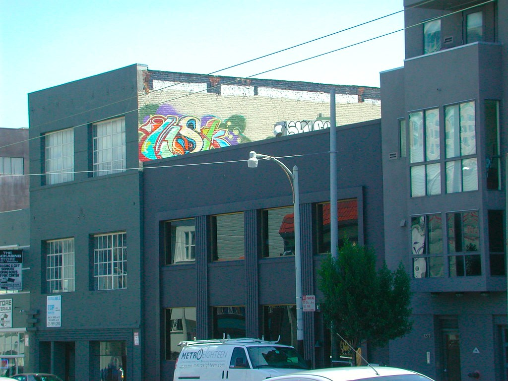 MSK, Graffiti, Street Art, San Francisco