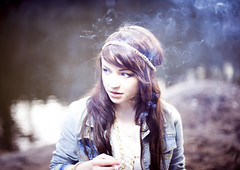 ++++++ (joshuaporter.co.uk) Tags: she blue girl this is eyes different looking riverside time you cigarette smoke right it smoking explore jacket denim oh isnt smoker frontpage towards motherfucker 2010 joshuaporter jennaballantyne