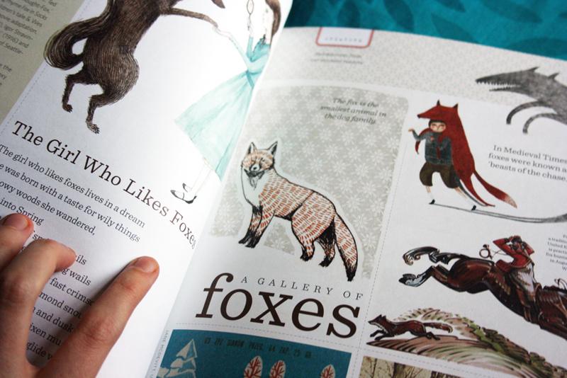 uppercase fox