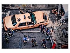 [免费照片] 社会・环境, 案件・事故, 车辆, 汽车, 警察・消防, 美國, 201005071700