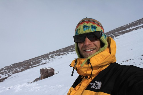 Happy face at 5,500 m