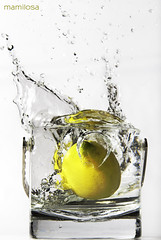 Lemon (so - (Alternating Current)) Tags: water lemon nikon sigma d200 acqua limone 70200f28 mamilosa micheledefilippo