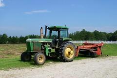 rural farm hay tractors