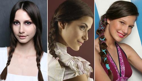 modelos de penteados para festas junina