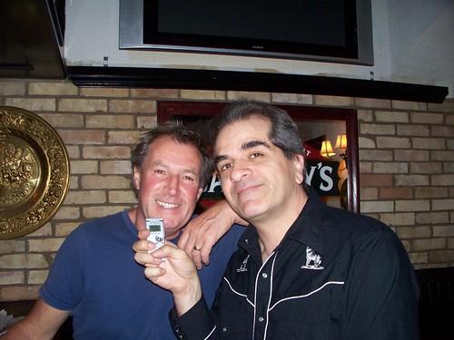 With Duncan Galbraith