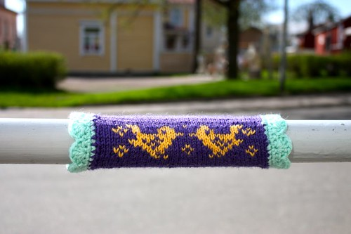 Knit graffiti - lintubongari 2