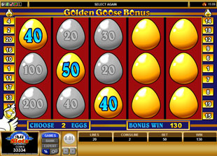 free Golden Goose Genie's Gems gamble feature