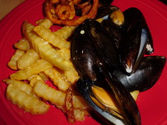 Mussels with frites