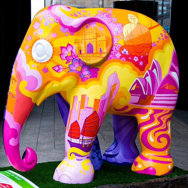 Elephant Parade 186 Around The World-3 by Tristan27