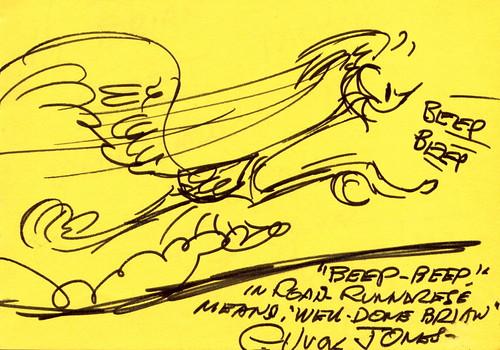 """Chuck Jones - """"BEEP, BEEP!"""""""