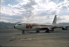 Western Airlines (J R Webb) Tags: ramp wa boeing slc wasatchfront 720 westernairlines theonlywaytofly groundpower