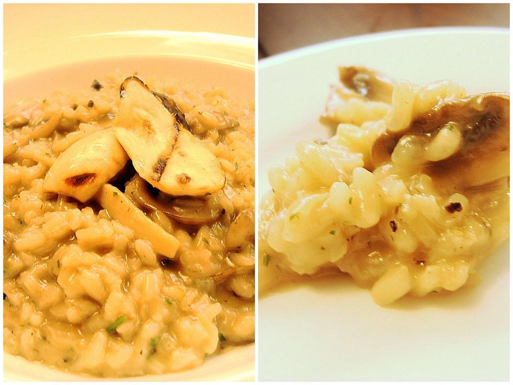 Silver spoon - mushroom risotto