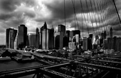 Brooklin Bridge (Renato Borocci) Tags: new york white black blanco negro grattacielo bianco nero renato notturno borocci