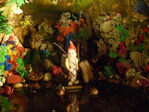 inside fairyland caverns.