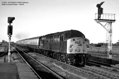10/08/1984 - Church Fenton. (53A Models) Tags: diesel britishrail passengertrain churchfenton class40 40082
