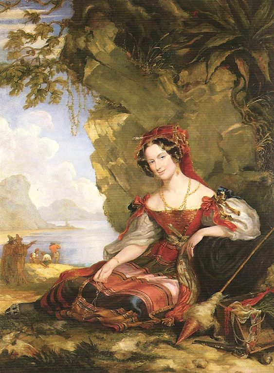 Portrait of Lady Caroline Montagu
