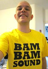 Bam Bam Sound t-shirt