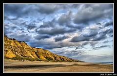 Los Mdanos ( Marco Antonio Soler ) Tags: sea en espaa sun sol beach contraluz mar los spain nikon huelva playa andalucia cielo nubes jpg hdr anochecer oceano atlantico mazagon mdanos anochece a d80 blinkagain