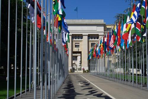 Geneva, Palais des Nations