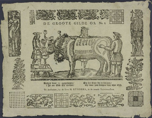 De groote gilde os by EH Rijnders 1781-1854