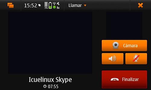 N900 skype