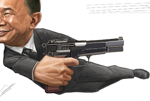 digital sketch of John Woo - 10