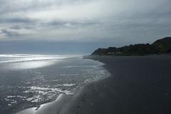 Awakino beach