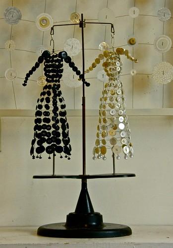 Antique Button Dresses