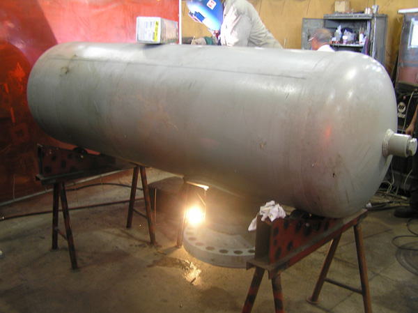 Pressure Vessel in an Emergency Situation for a Gas Company in Florida