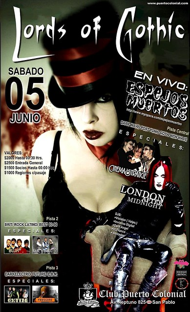 Lord of gothic - Sabado 5 junio 2010