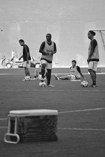 Ronaldinho and Seedorf