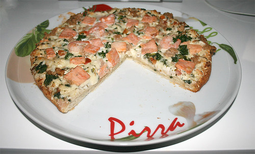 07 - Pizza angeschnitten