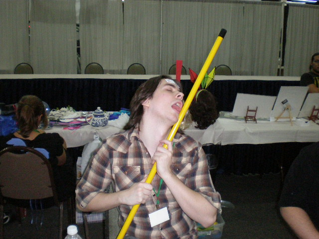 For the last time EGORAPTOR, that broomstick isnt made of candy.