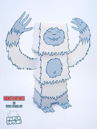 Paper Totem! x Scott Schaller