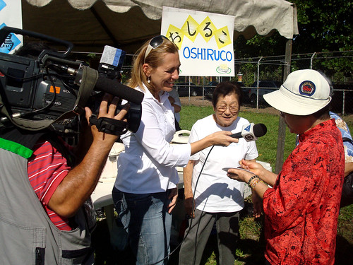 Undokai 2010: Nikkei fala sobre o Oshiruko à TV Tribuna (afiliada Rede Globo)