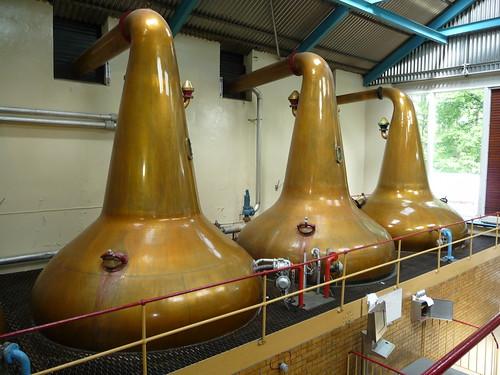 Stills at Aberlour Distillery