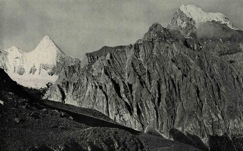 Joseph Rock view of Konkaling, 1928
