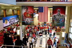 Inside the United Center