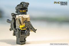 PMC full Silver (Shobrick) Tags: private amazing war lego military custom armory contractor irak pmc brickarms brickforge