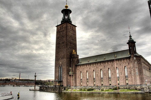 Stockholm city hall. Ayuntamiento de Estocolmo