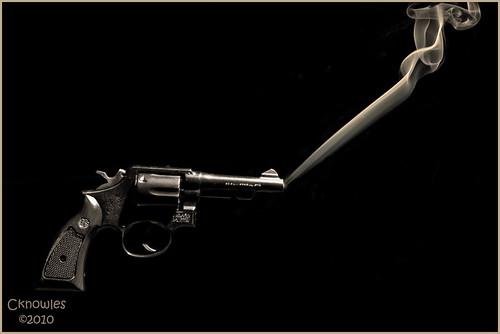 Gun Smoke Sepia