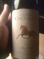 2006 Chateau Chevalier Pinot Noir