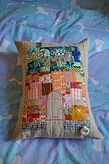Savvy Stitch House Pillow