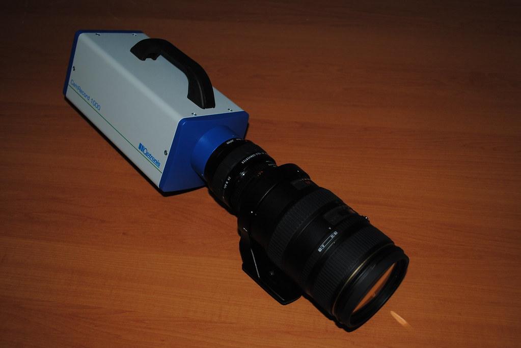 High speed close up camera