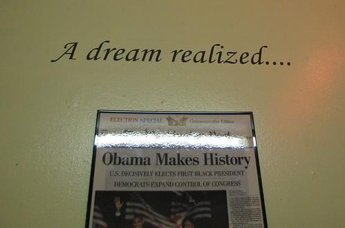 A dream realized...